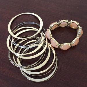 Bangles and stretch bracelets